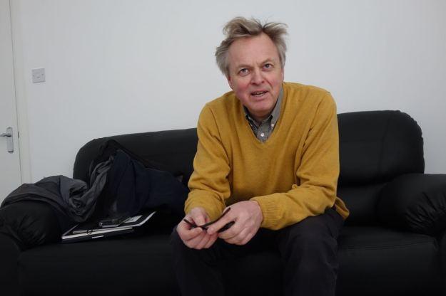 Len Grant, writer, photographer, artist.