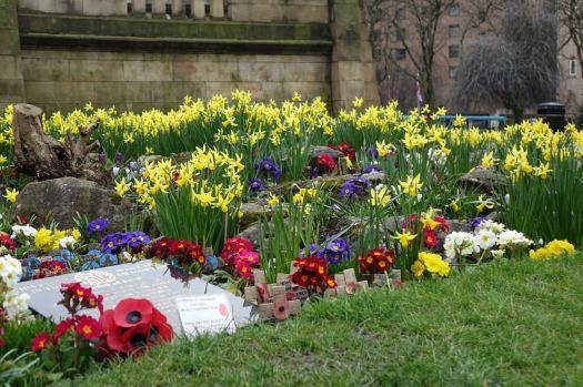 And memorial.