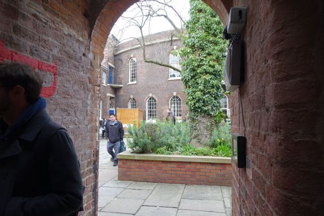 Yes, it's the garden behind The Bluecoat.