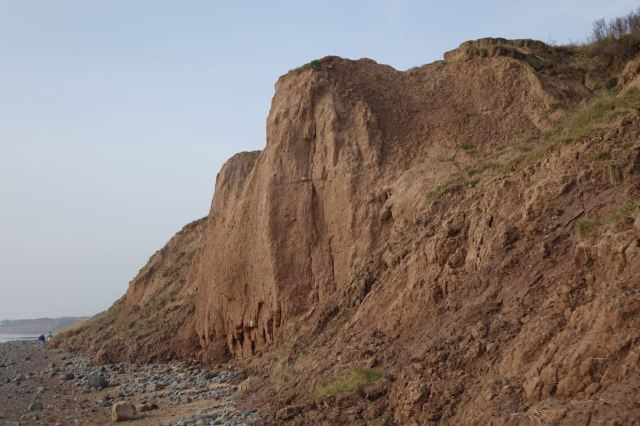 Ancient boulder clay cliffs now mostly gone.