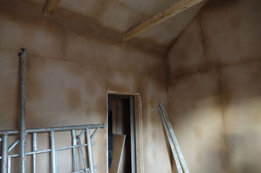 Including at the main bedroom upstairs where there will be no ceiling.