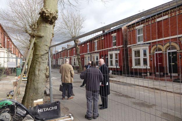 Joe Anderson, Mayor of Liverpool visits.