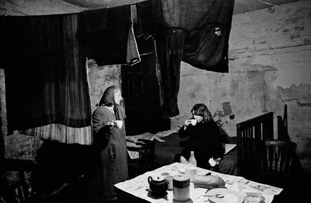'Mrs Ditchfield in her cellar flat'