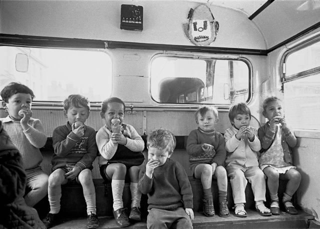 Special events organised for all. 'On board the playbus'