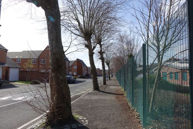 Next along Eversley Street, one of the original tree-lined terraced streets of Granby.