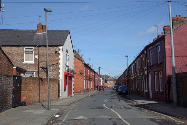 Good settled terraced streets.