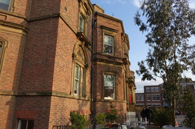 To another of Liverpool's original social enterprises, Blackburne House.