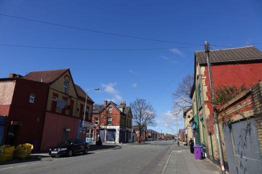 Crossing Granby Street.