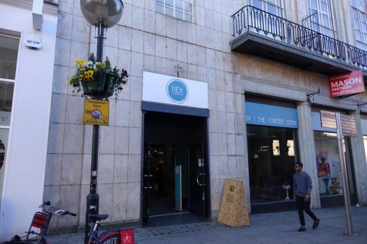 Next, something newly opened where British Gas and HMV used to be,