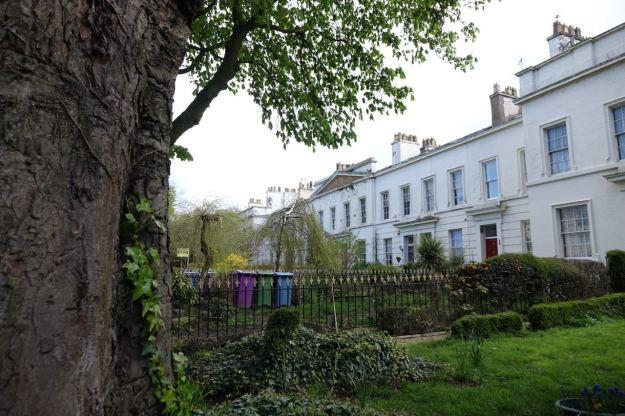 And more elegant houses further along Sandown Lane.