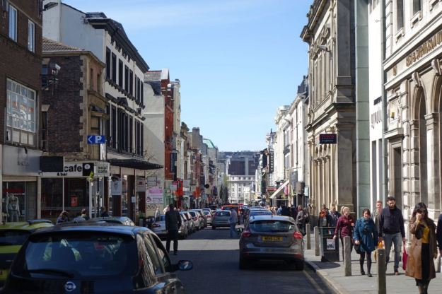 Into Bold Street.