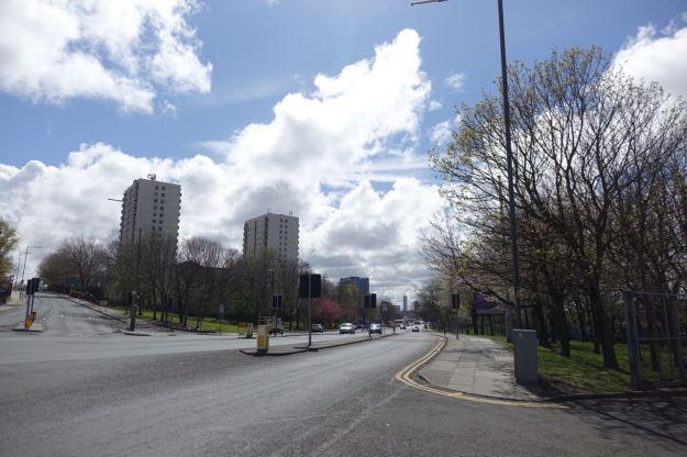 Along Walton Road into Kirkdale.