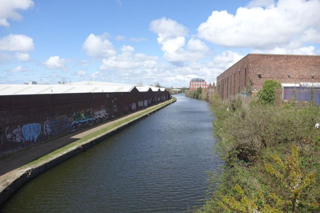 First view today of the Leeds and Liverpool Canal.