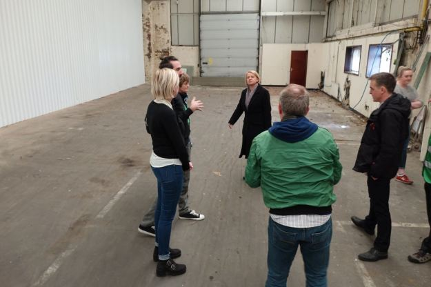 First a tour of the 18,000sq ft space.