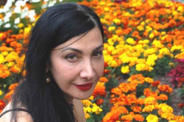 Maram Al-Masri, exiled Syrian poet.