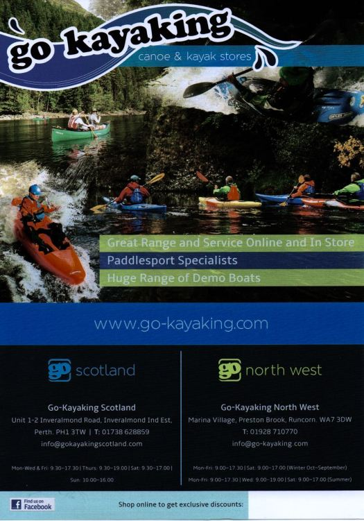 All your kayaking needs.