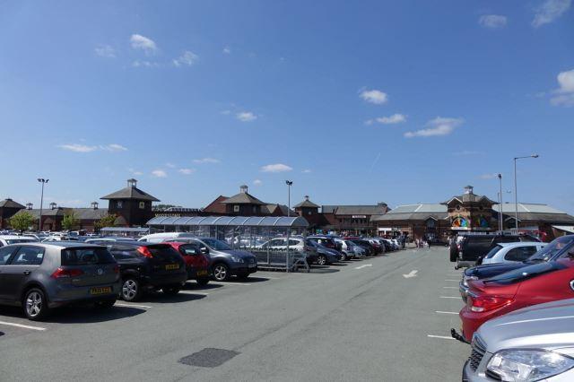 Yes, it's a car park.