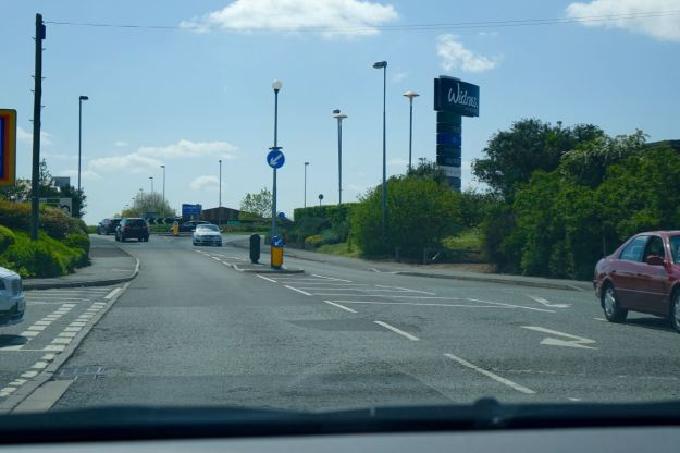 But soon we're around the roads and roundabouts that seem to take up most of Widnes these days.