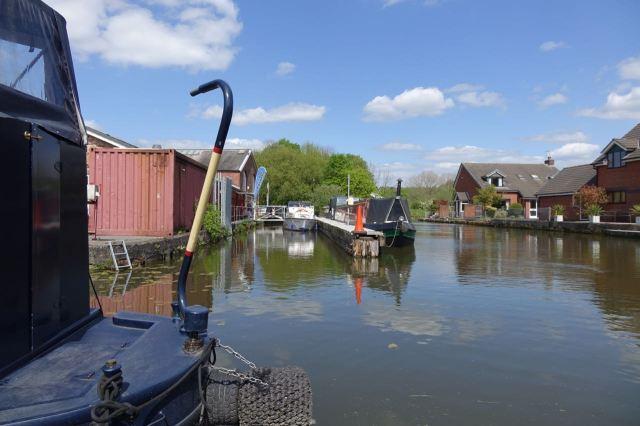Duke's Wharf, here on the Bridgwater Canal.