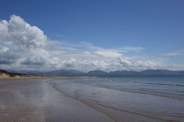 And we keep looking back at Snowdonia.