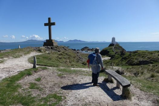This is not Greece, this is Anglesey. In May on Ynys Llandwyn.
