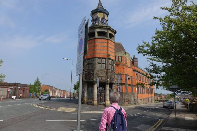 Then we reach Everton Library.