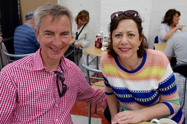 John and Michele.