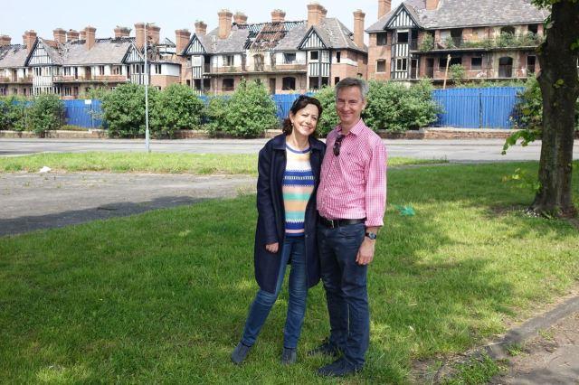 Michele and John, Municipal Dreaming at Eldon Grove.
