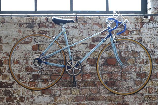 It's bike friendly, you see.