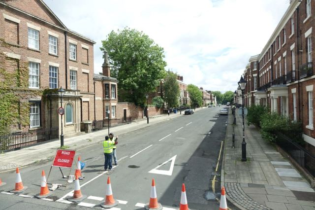 Huskisson's closed for some filming.