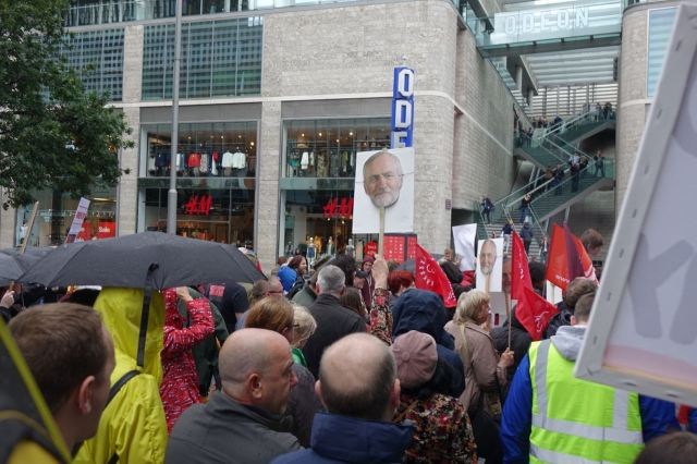I rejoice in such a demo walking through the privatised streets of Liverpool One.