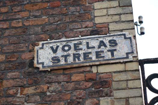 And here is Voelas Street.