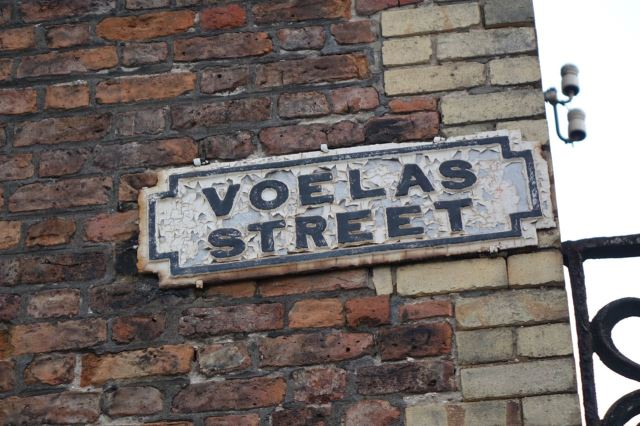 And here is Voelas Street.