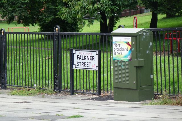 Yes, this is Falkner Street, though not as you probably know it.