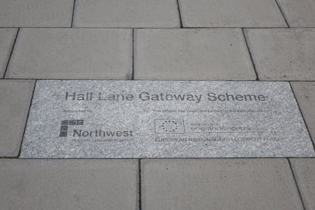 So glad it's got its own plaque in the pavement.