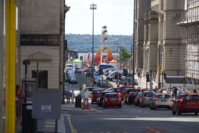 Down to the Pier Head.