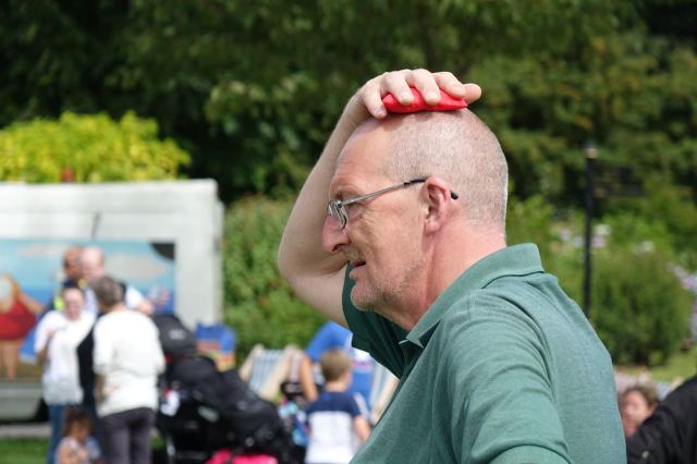 As is 'balancing things on your head'