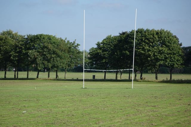 I've noticed a womens rugby team practising in the evenings.