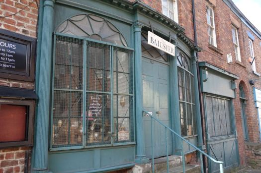 Back on the High Street a Victorian shop front.