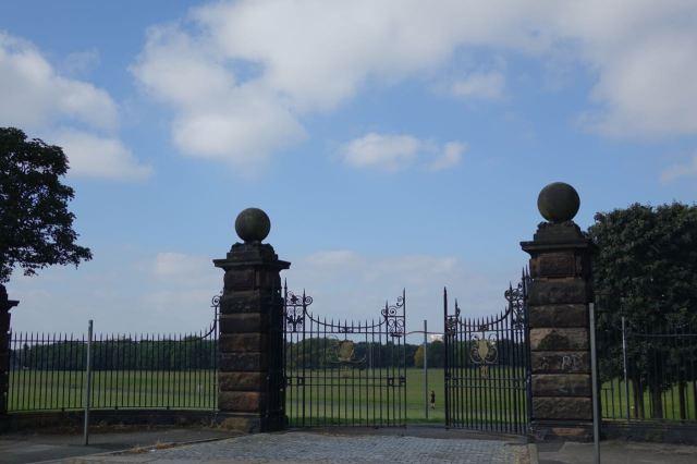 More grand gates.