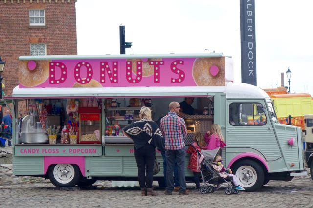 Oh good. Doughnuts ahead!