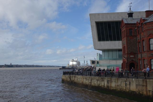 And a ship at the Pier Head.