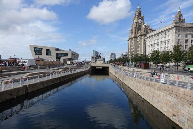 The Leeds and Liverpool canal extension.