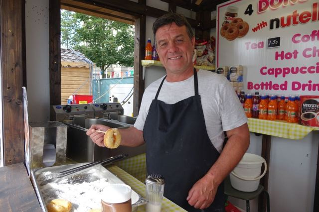 But Will from Cherry Lane is a reasonable man and is more than happy to sell me the longed for single doughnut.