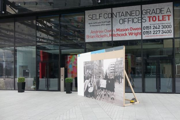Though I notice a Dave Sinclair 1980s photo displayed in front of an empty office.