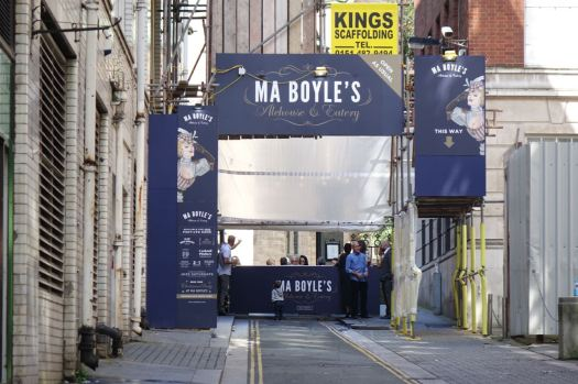 Ma Boyle's has been done up. And I'm told it's splendid.
