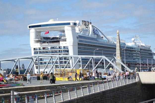 Yes it's a cruise ship.
