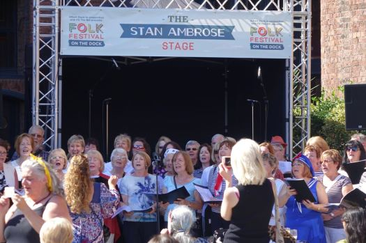 The Stan Ambrose Stage.