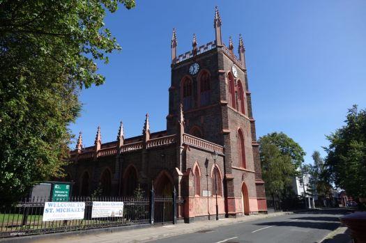 The lovely church.
