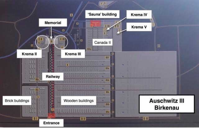 -Birkenau map